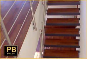 Colocación y de Escaleras